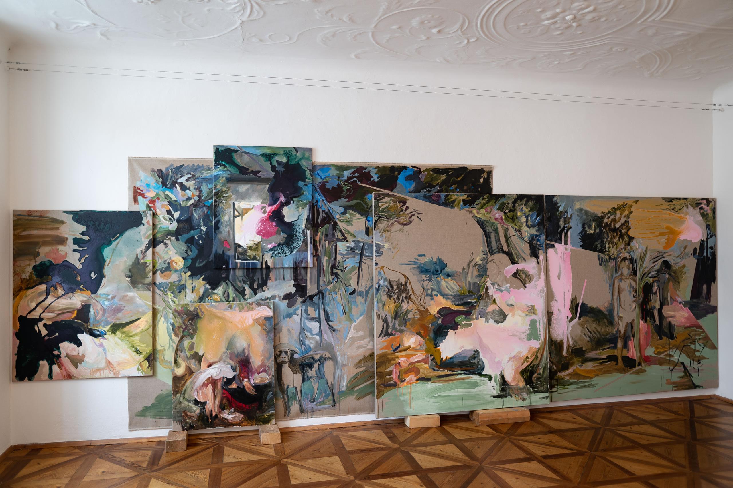 Aus dem Raum gefallen | 01 | Installation | Elisabeth Wedenig | 2019 | Foto: Peter Schaflechner | Galerie3