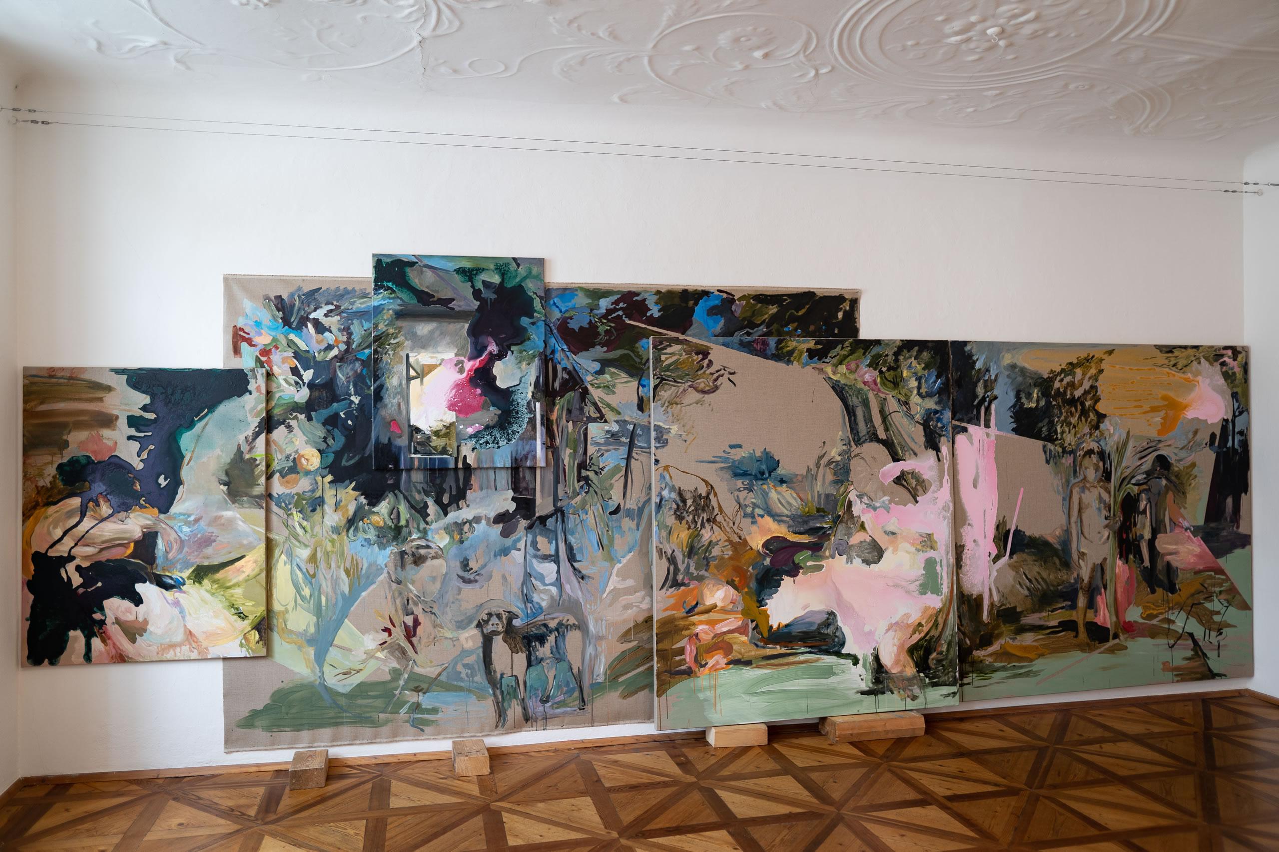 Aus dem Raum gefallen | 02 | Installation | Elisabeth Wedenig | 2019 | Foto: Peter Schaflechner | Galerie3