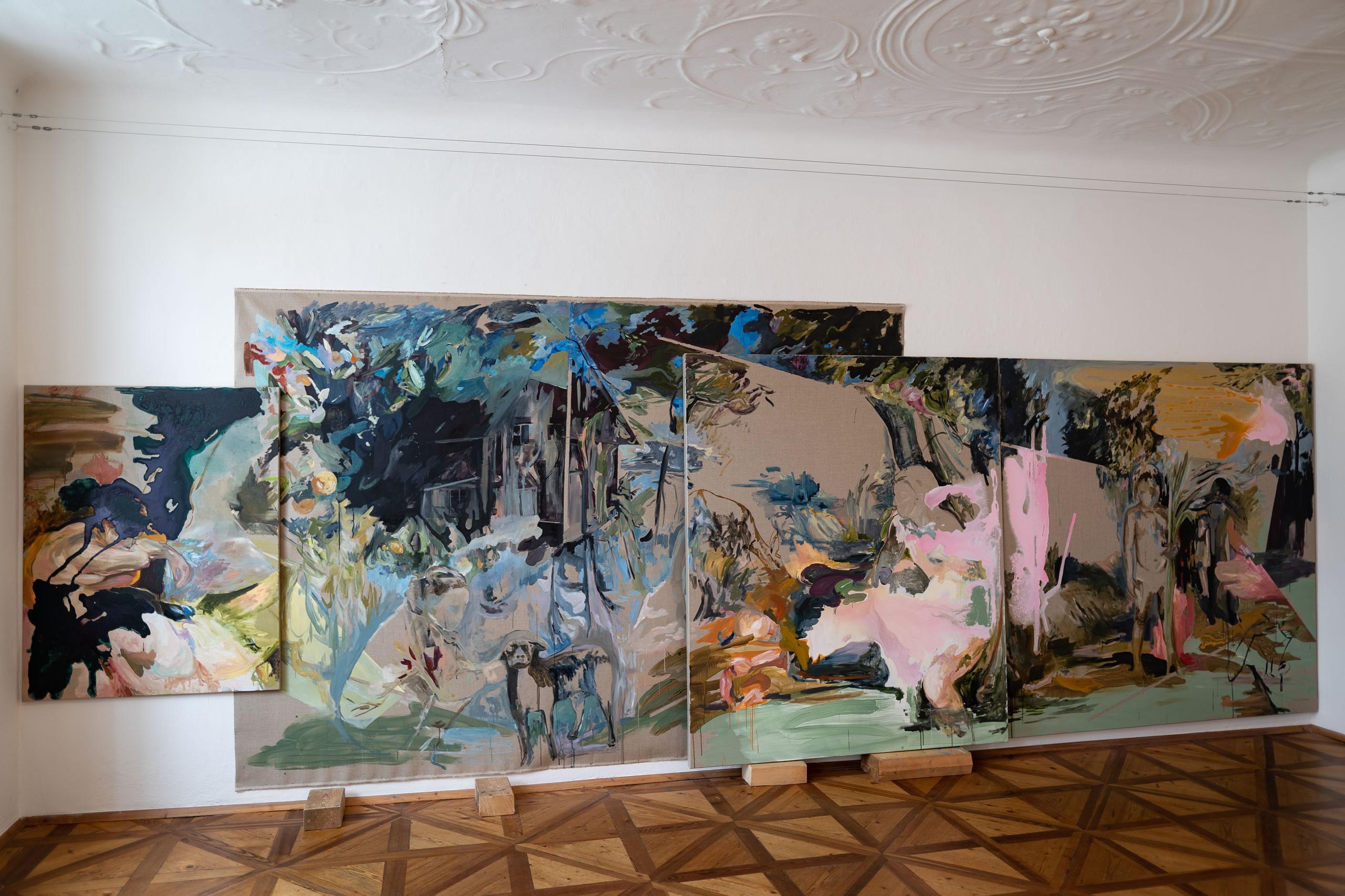 Aus dem Raum gefallen | 03 | Installation | Elisabeth Wedenig | 2019 | Foto: Peter Schaflechner | Galerie3