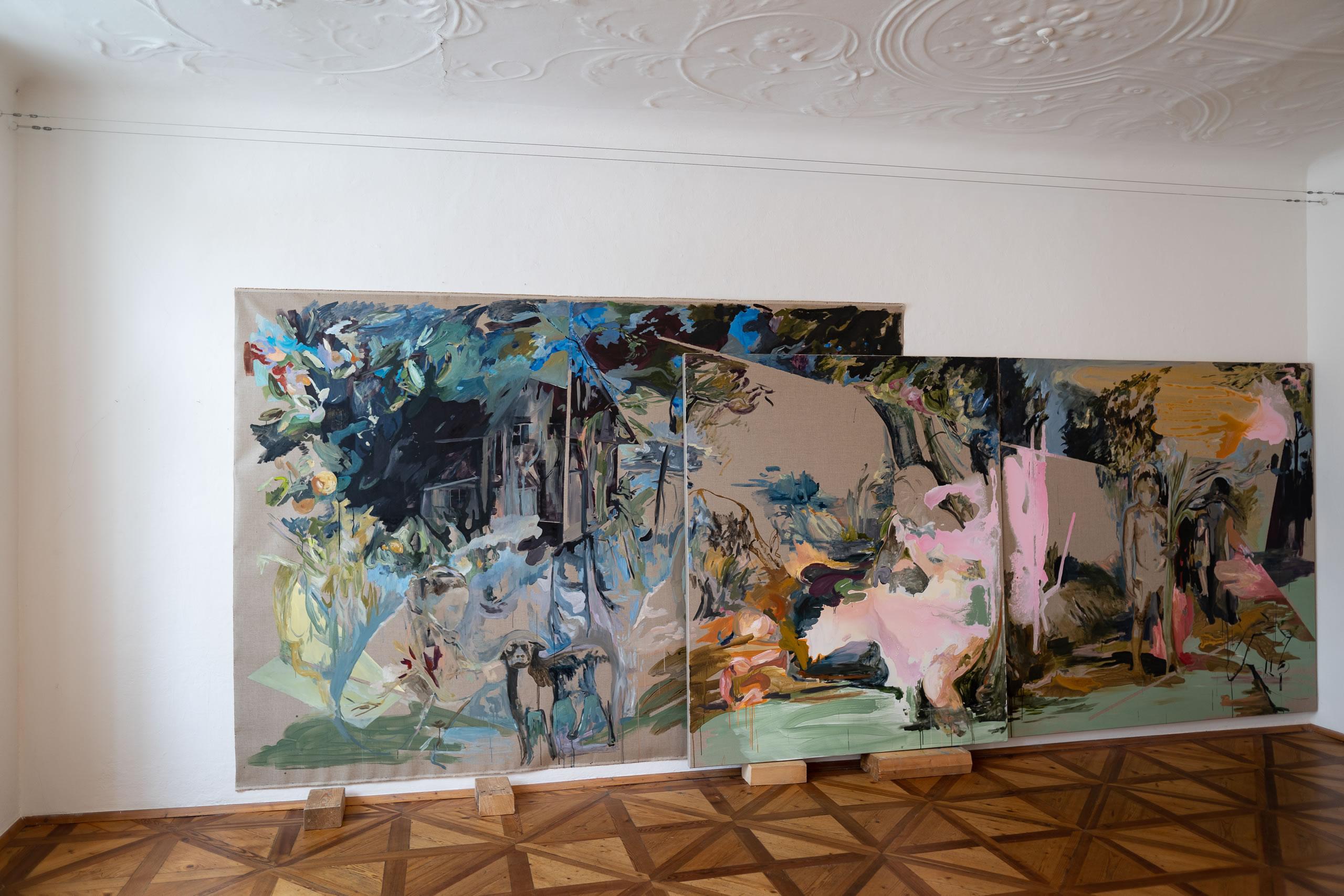 Aus dem Raum gefallen | 04 | Installation | Elisabeth Wedenig | 2019 | Foto: Peter Schaflechner | Galerie3