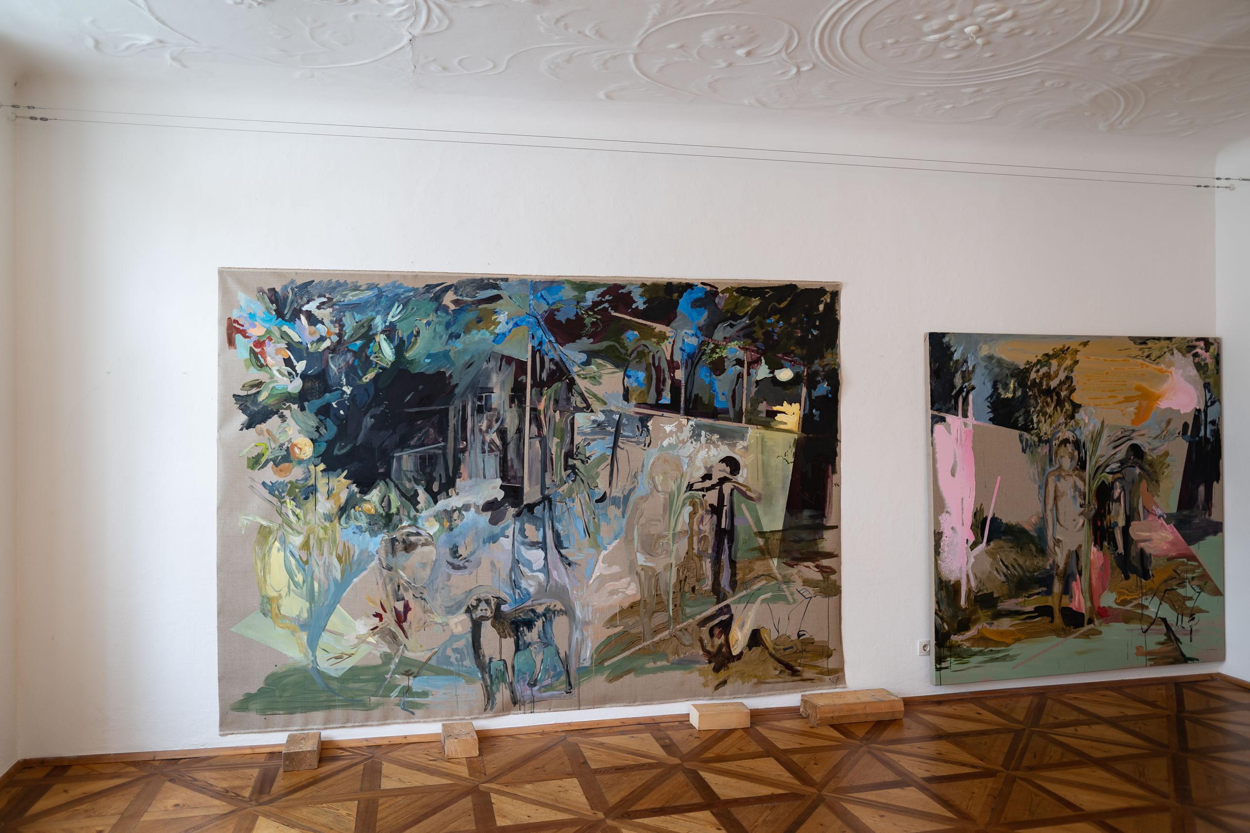 Aus dem Raum gefallen | 05 | Installation | Elisabeth Wedenig | 2019 | Foto: Peter Schaflechner | Galerie3