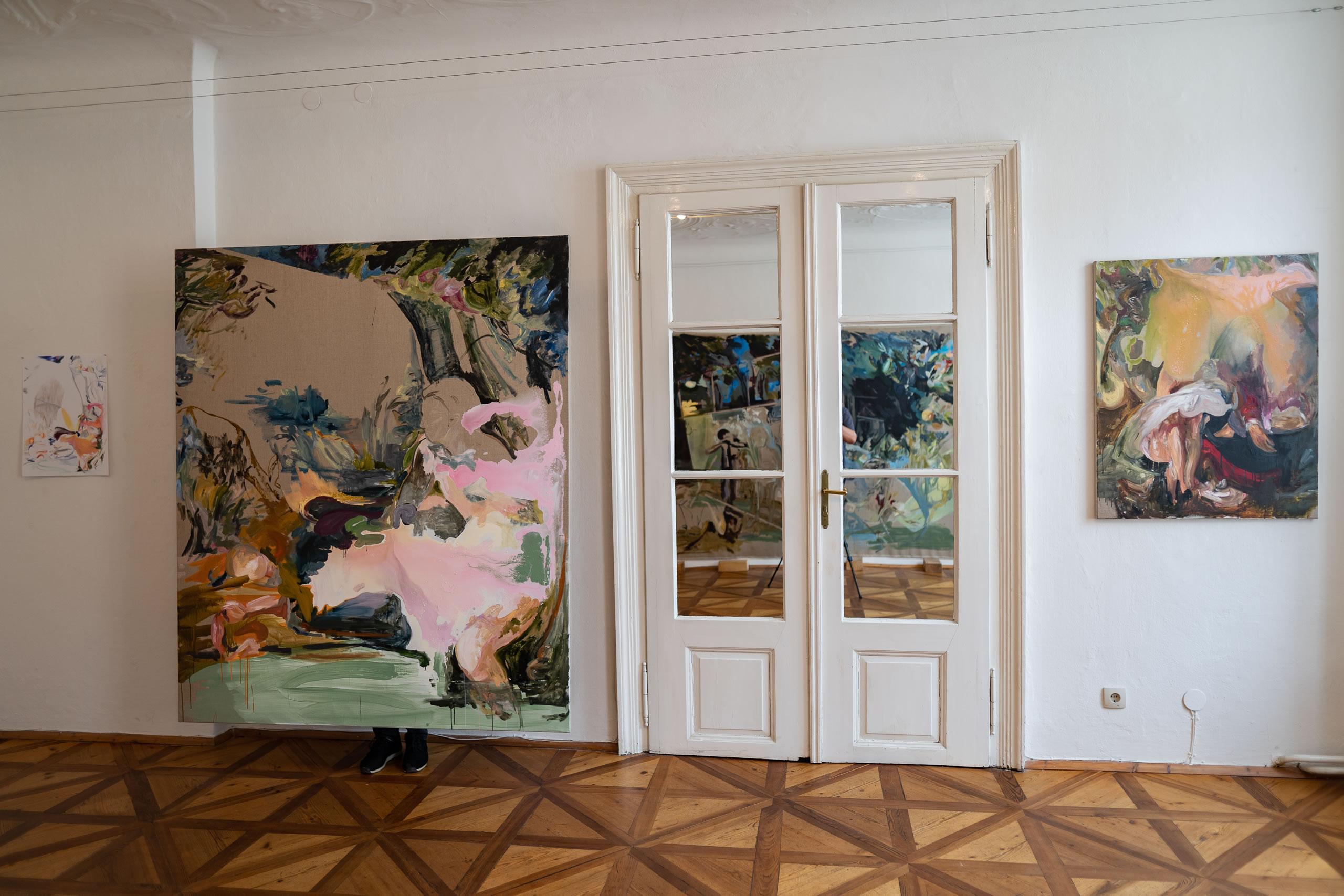 Aus dem Raum gefallen | 06 | Installation | Elisabeth Wedenig | 2019 | Foto: Peter Schaflechner | Galerie3