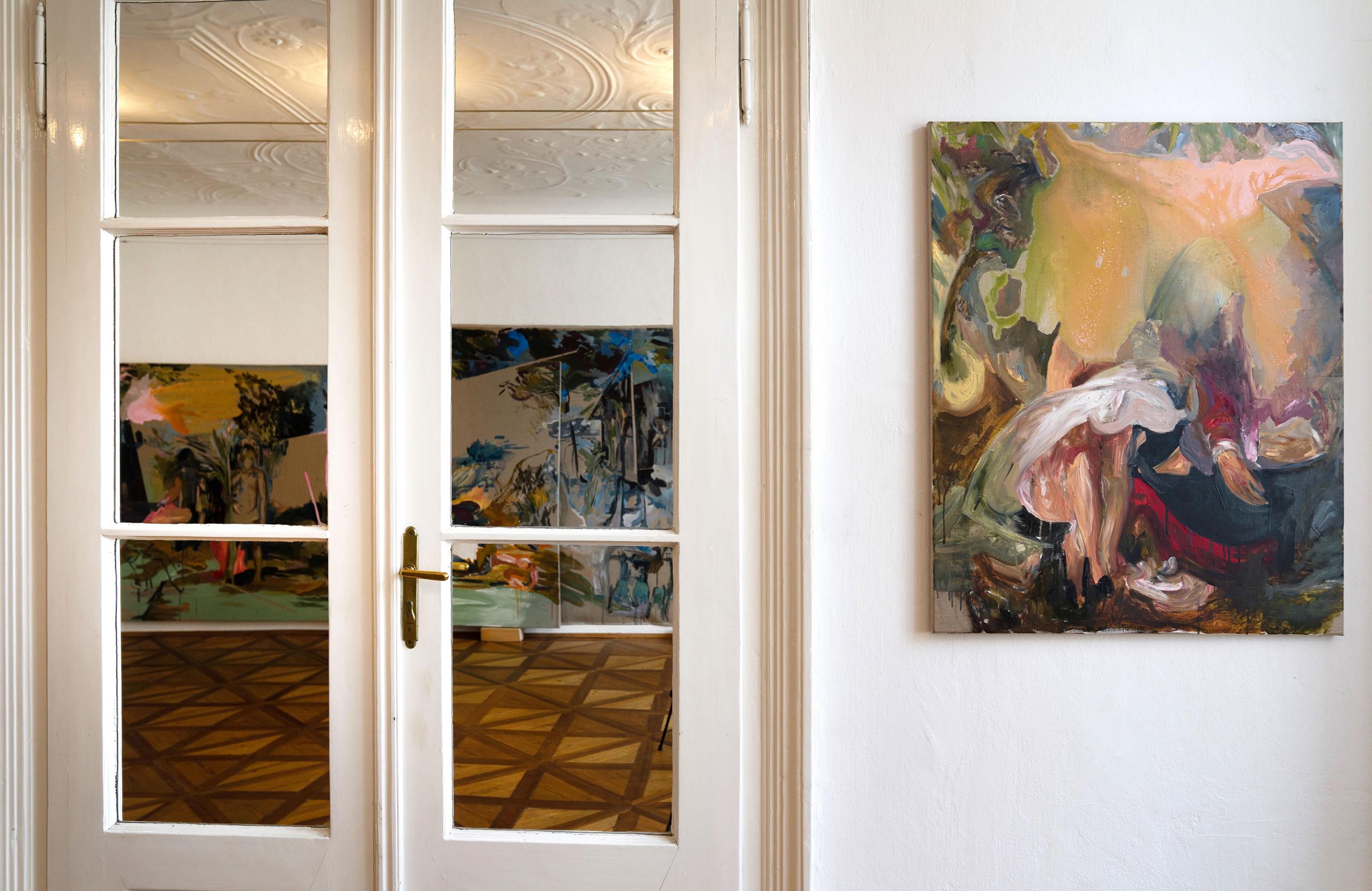 Aus dem Raum gefallen | 08 | Installation | Elisabeth Wedenig | 2019 | Foto: Peter Schaflechner | Galerie3