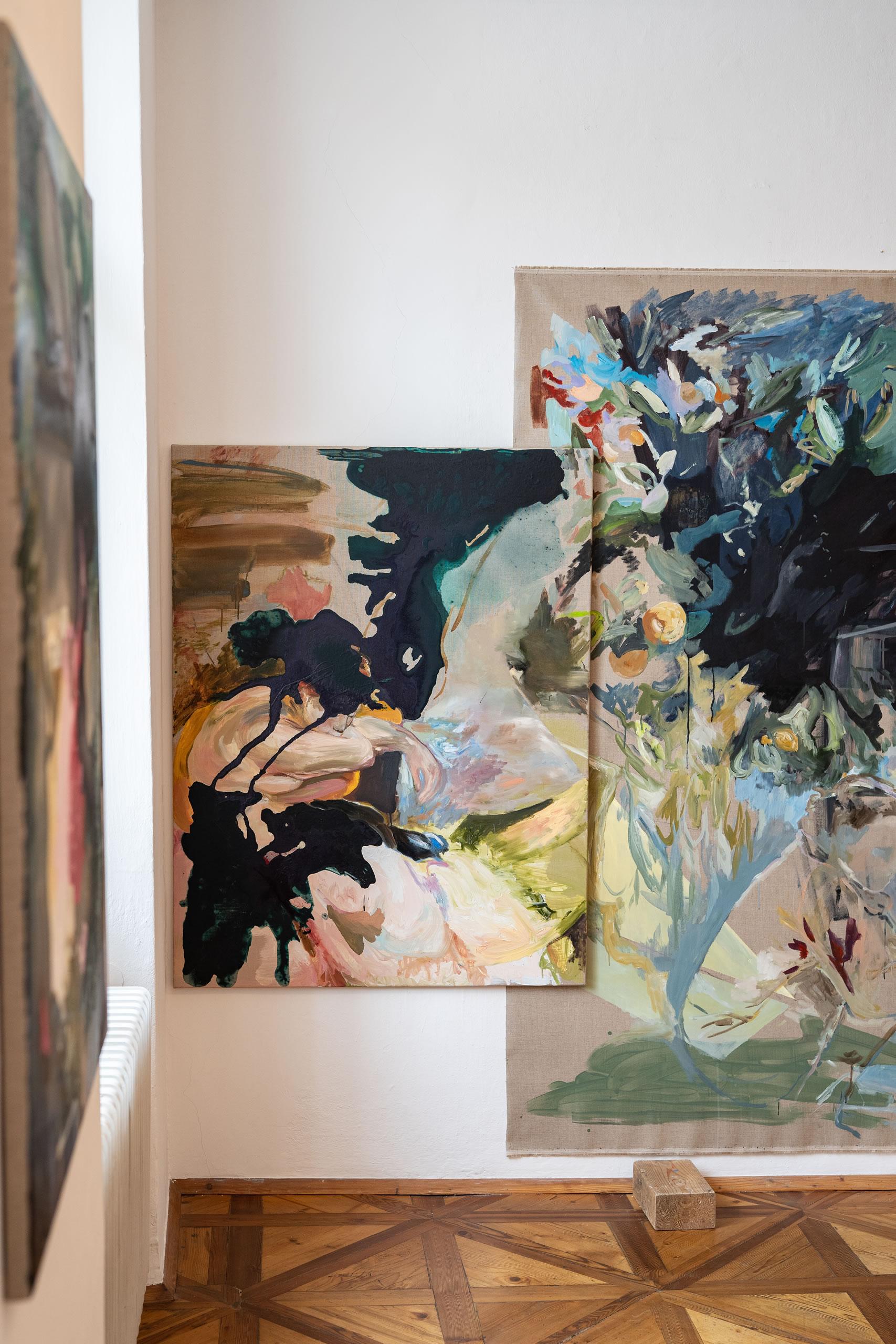 Aus dem Raum gefallen | 09 | Installation | Elisabeth Wedenig | 2019 | Foto: Peter Schaflechner | Galerie3