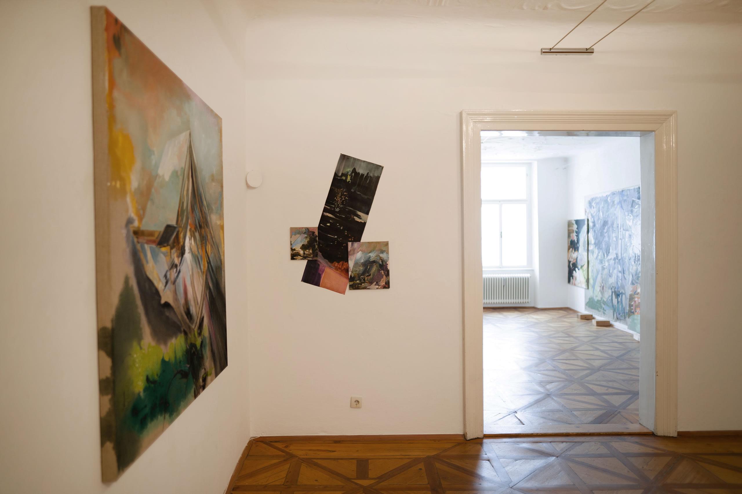 Aus dem Raum gefallen | 10 | Ansicht gebrochene Wolke | Elisabeth Wedenig | 2019 | Foto: Peter Schaflechner | Galerie3