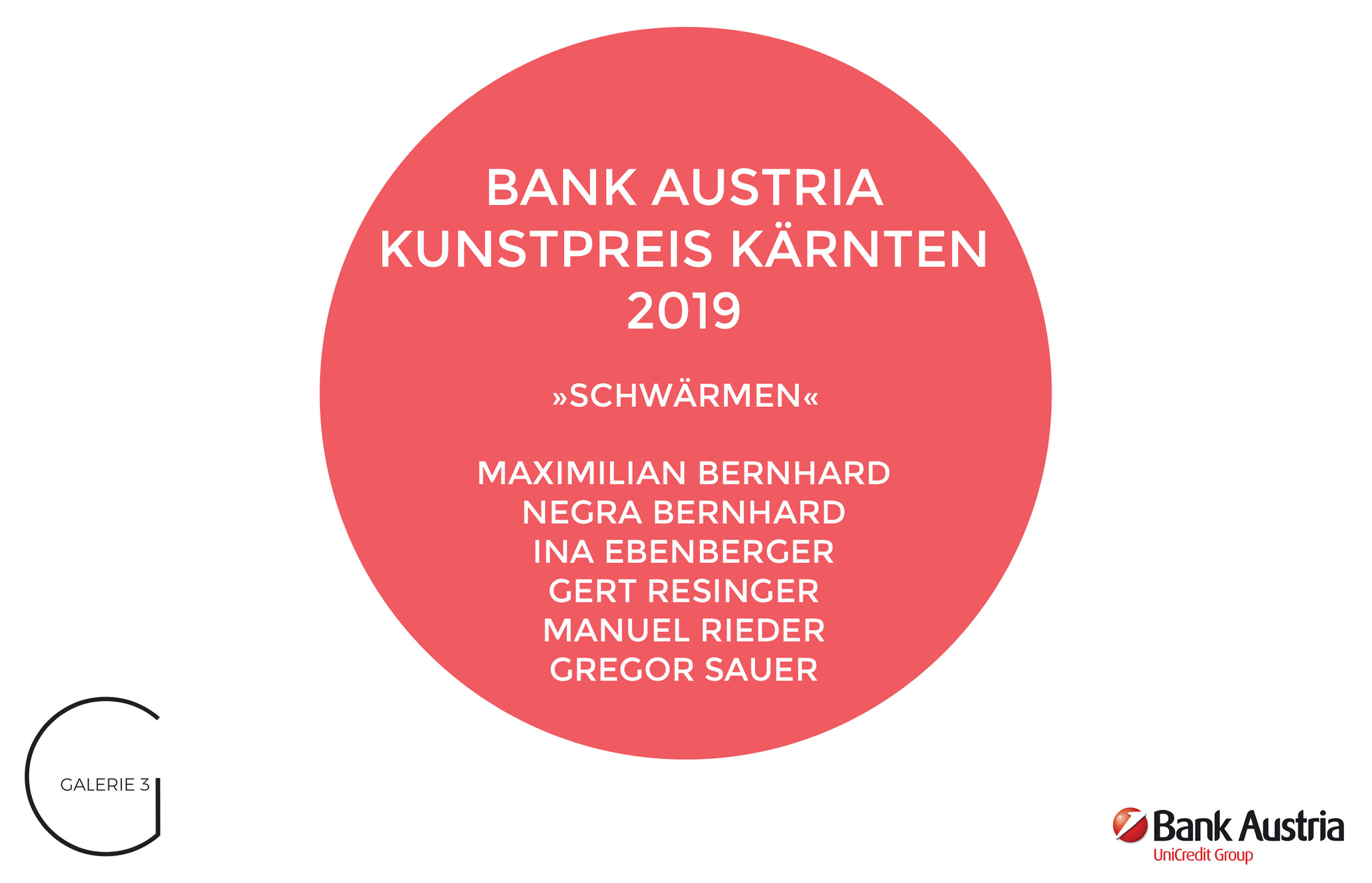 Bank Austria Kunstpreis 2019 | Galerie3