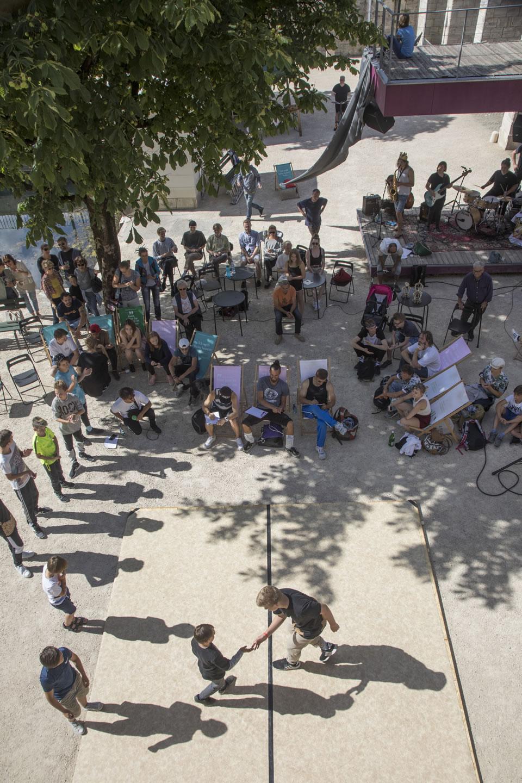 Breakdance Get-together / Cypher | INS FREIE 2018 | Foto: Gerhard Maurer