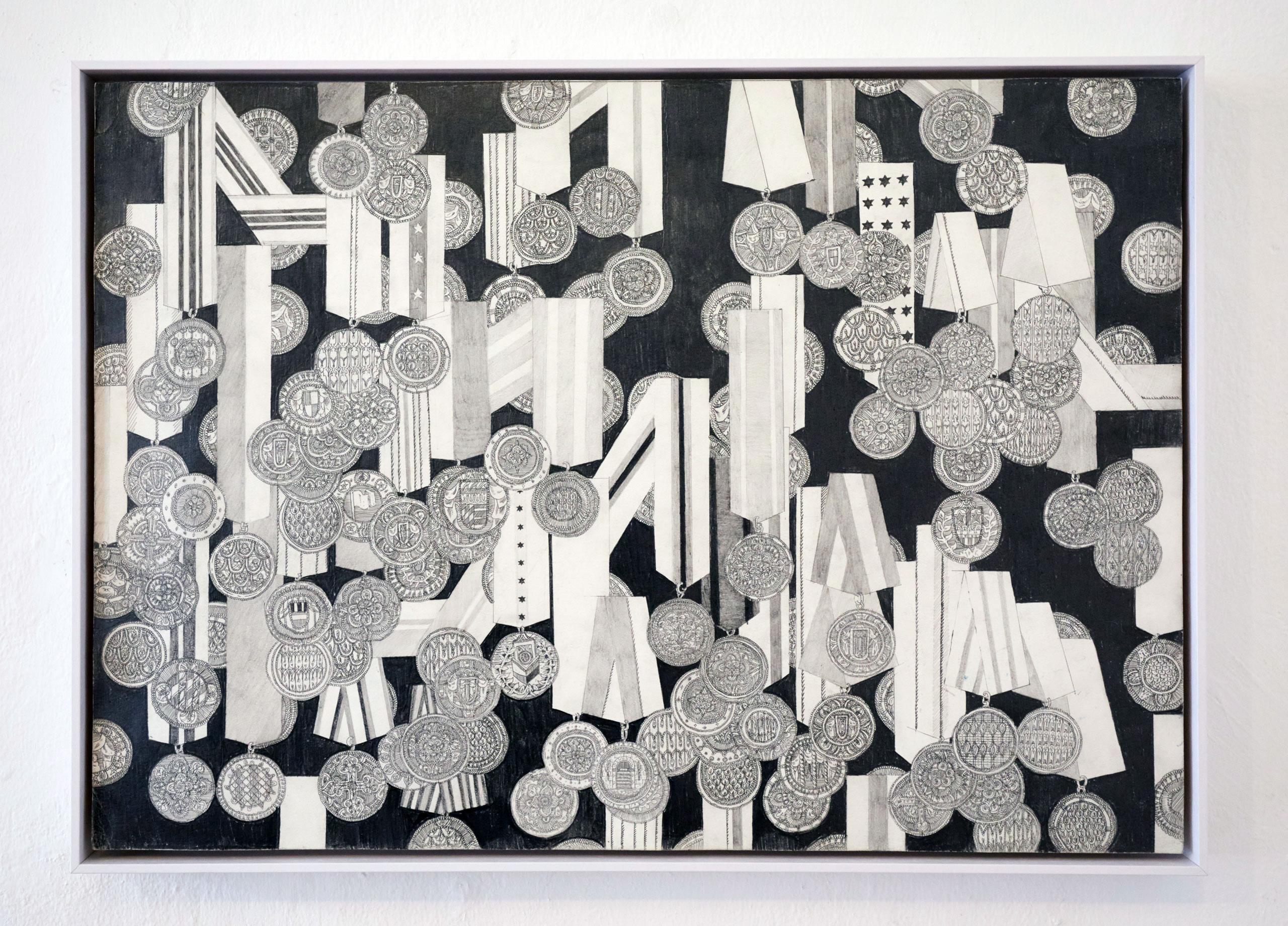 Patrick Roman Scherer | O.T. | 2019 | Bleistift auf Papier | 42 x 59.4 cm | Foto Johannes Puch | Galerie3