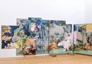 Elisabeth Wedenig | Aus dem Raum gefallen | Foto: Arnold Pöschl | Galerie3