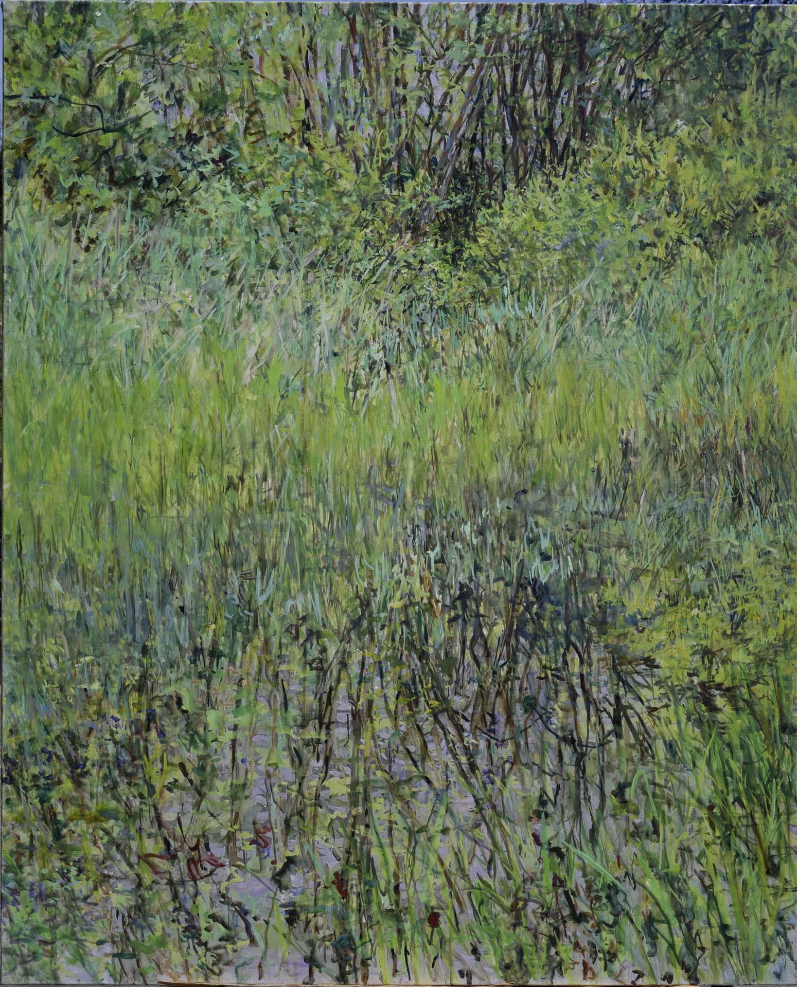 FLUX23 | Markus Orsini-Rosenberg | Teich Frühling 1 | 2015 | 137 x 110 cm