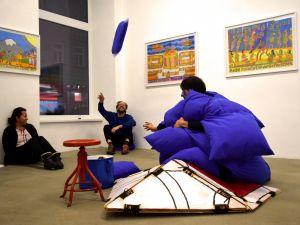 FLUX23 im T/abor   Rohullah Kazimi   Martha Labil   Foto: Theresa Schütz