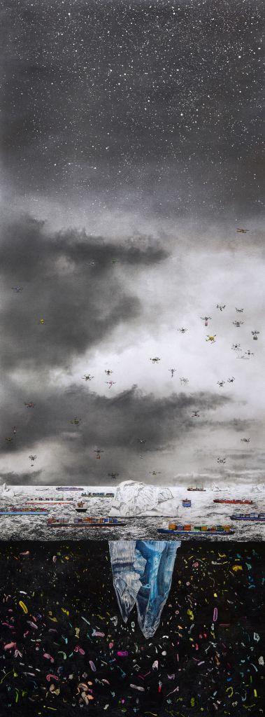 Gabriel Payer | Vom Fremd sein in der Welt | 3. Törn | Galerie3 | Velden