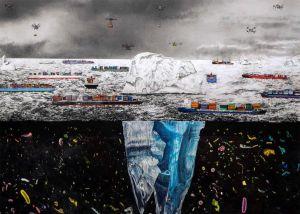 Gabriel Payer | Vom Fremd sein in der Welt | Ausschnitt | 3. Törn | Galerie3 | Velden