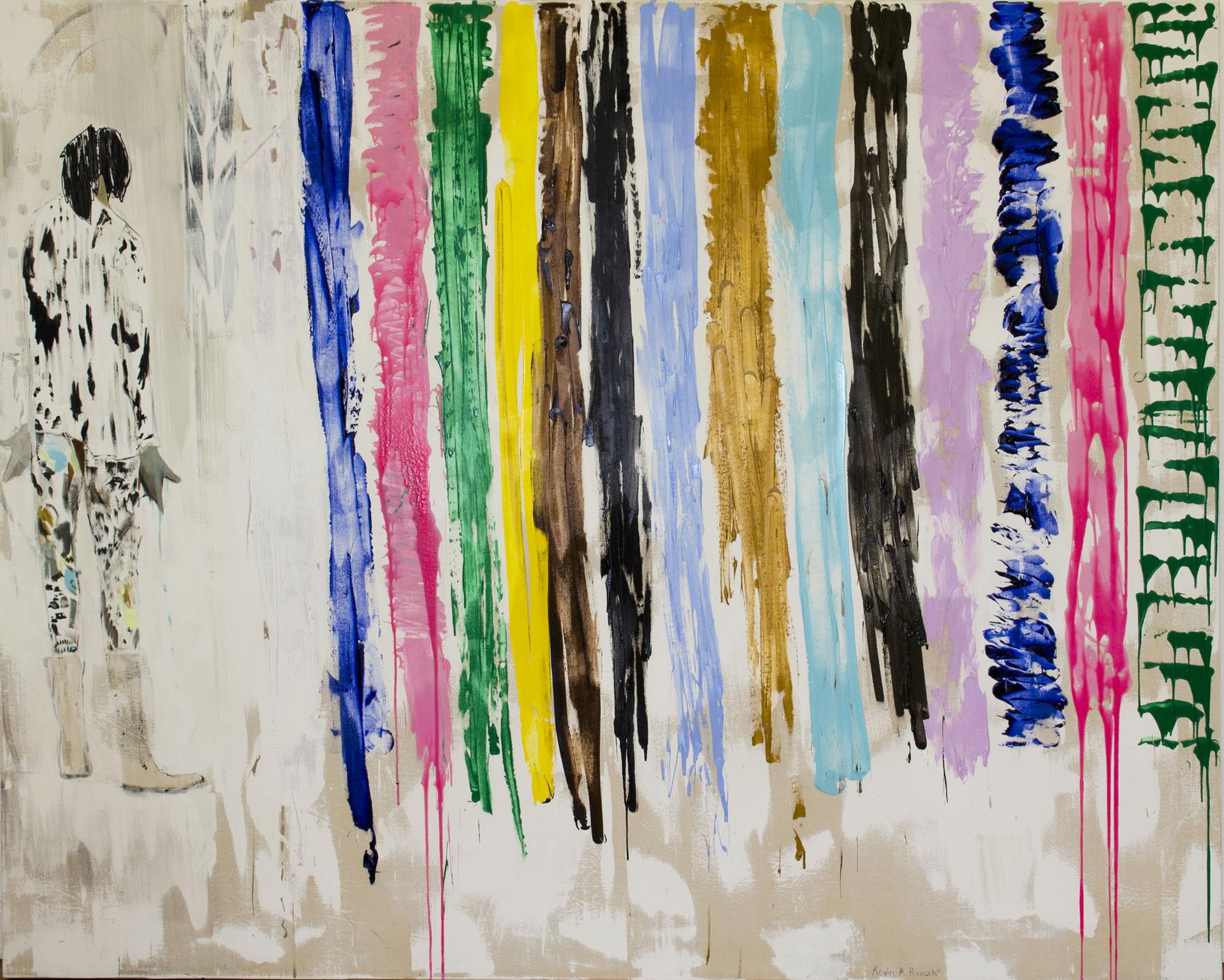 Galerie3 | Kevin A. Rausch | Sag mir wo die Blumen sind, wo sind sie geblieben | 220 x 270 cm | Foto: Kevin A. Rausch
