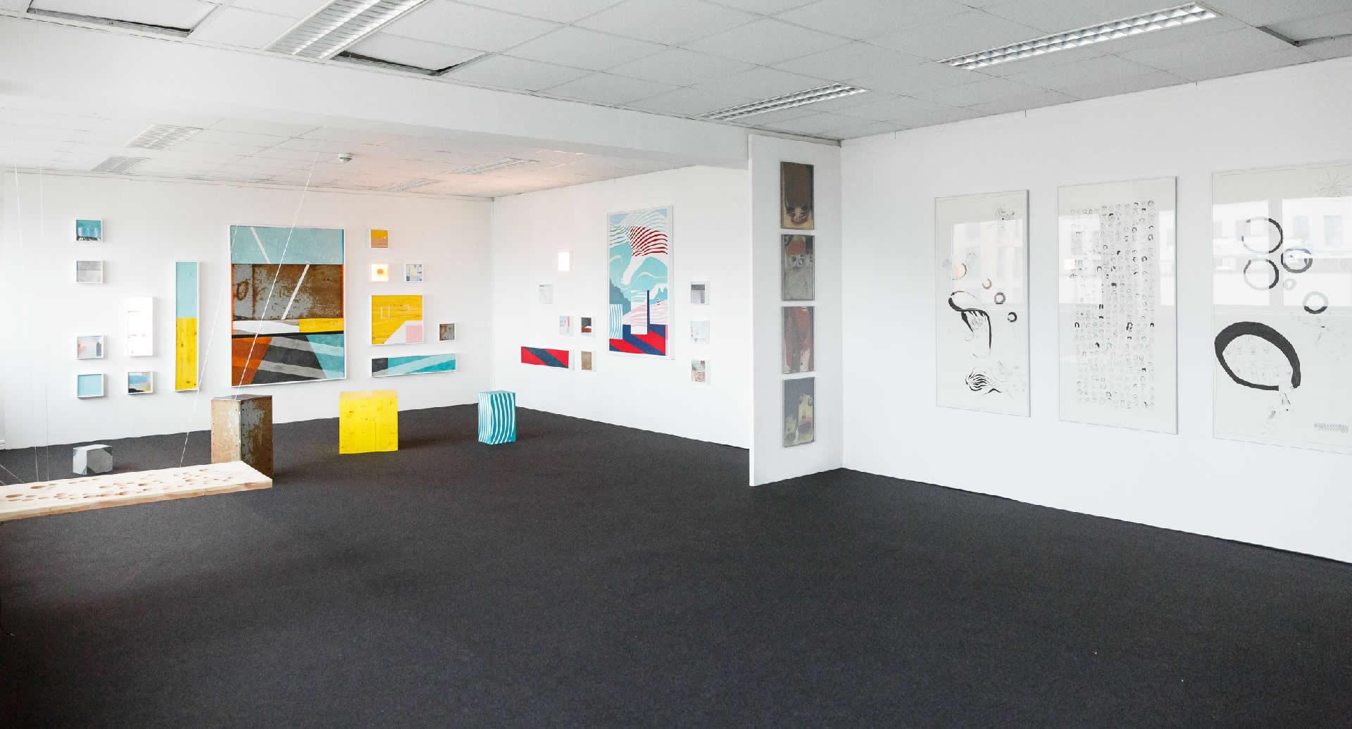 Galerie3 | Flux23 | Parallel Vienna 2017 | Stefanie Wuschitz . David Mase