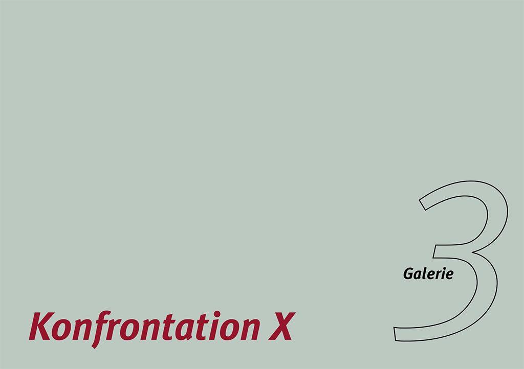 Galerie3 | Konfrontation X | 2017