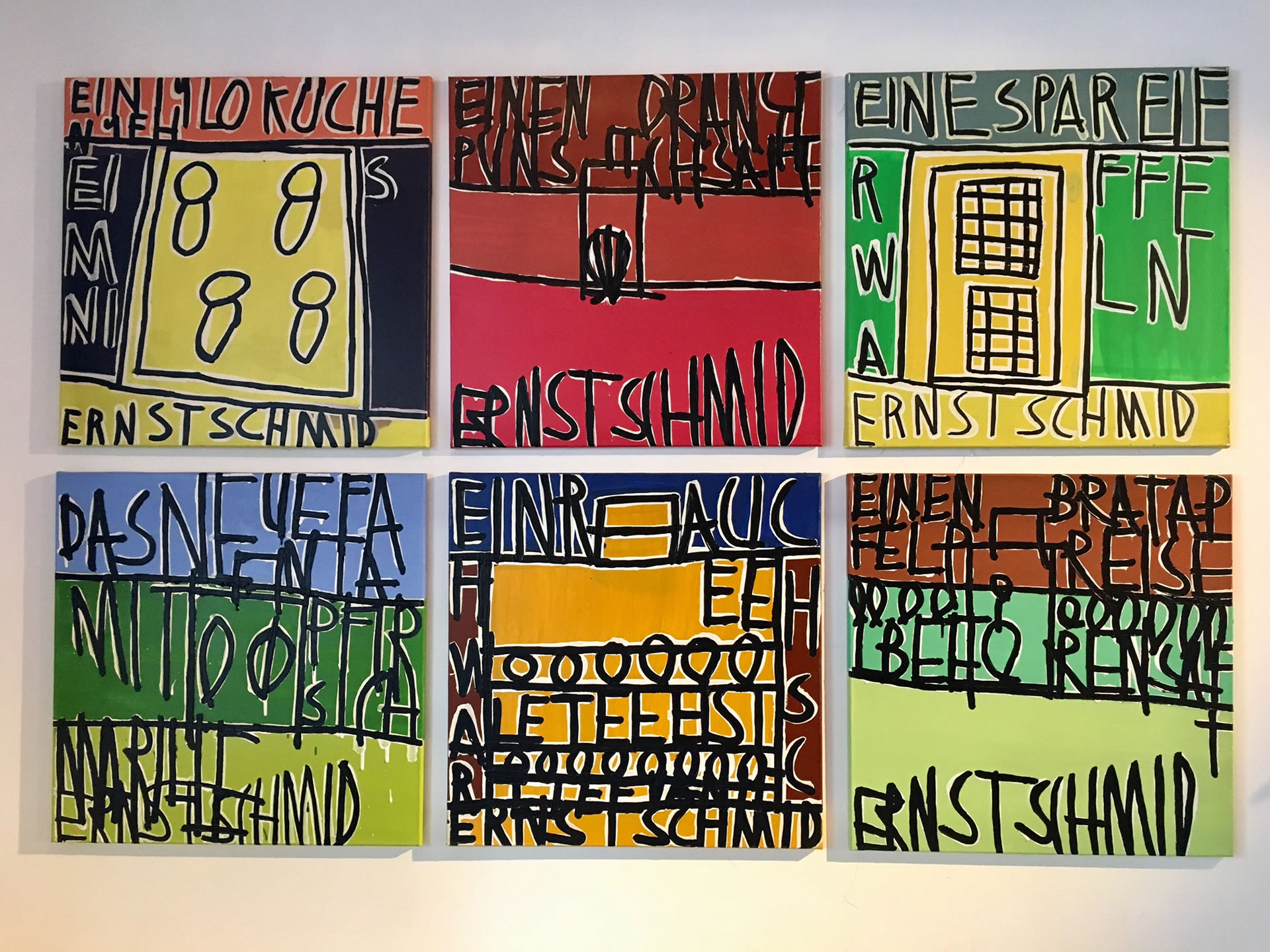 Galerie3 | Kopfkino | 22 | Ernst Schmid | Magdas Lokal