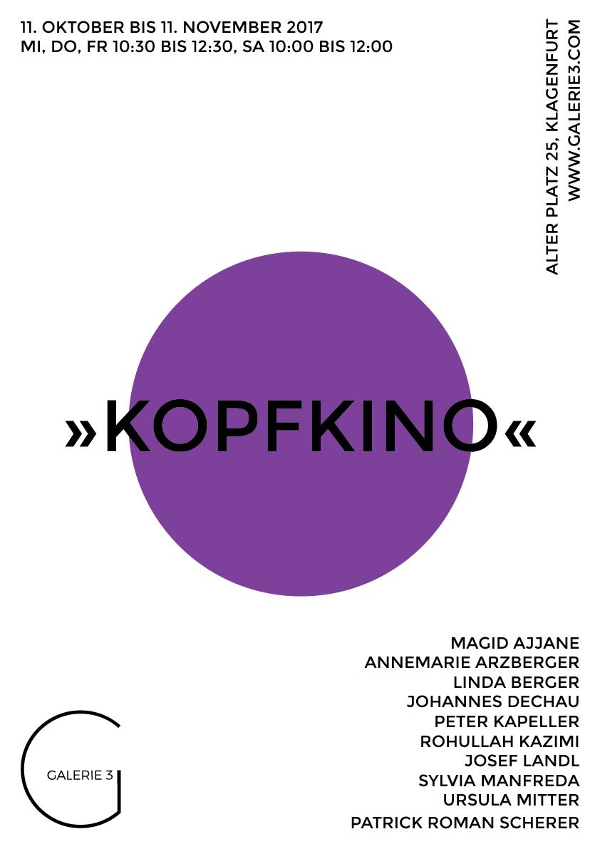 Galerie3 | Kopfkino | 23 | Plakat | Kopfkino