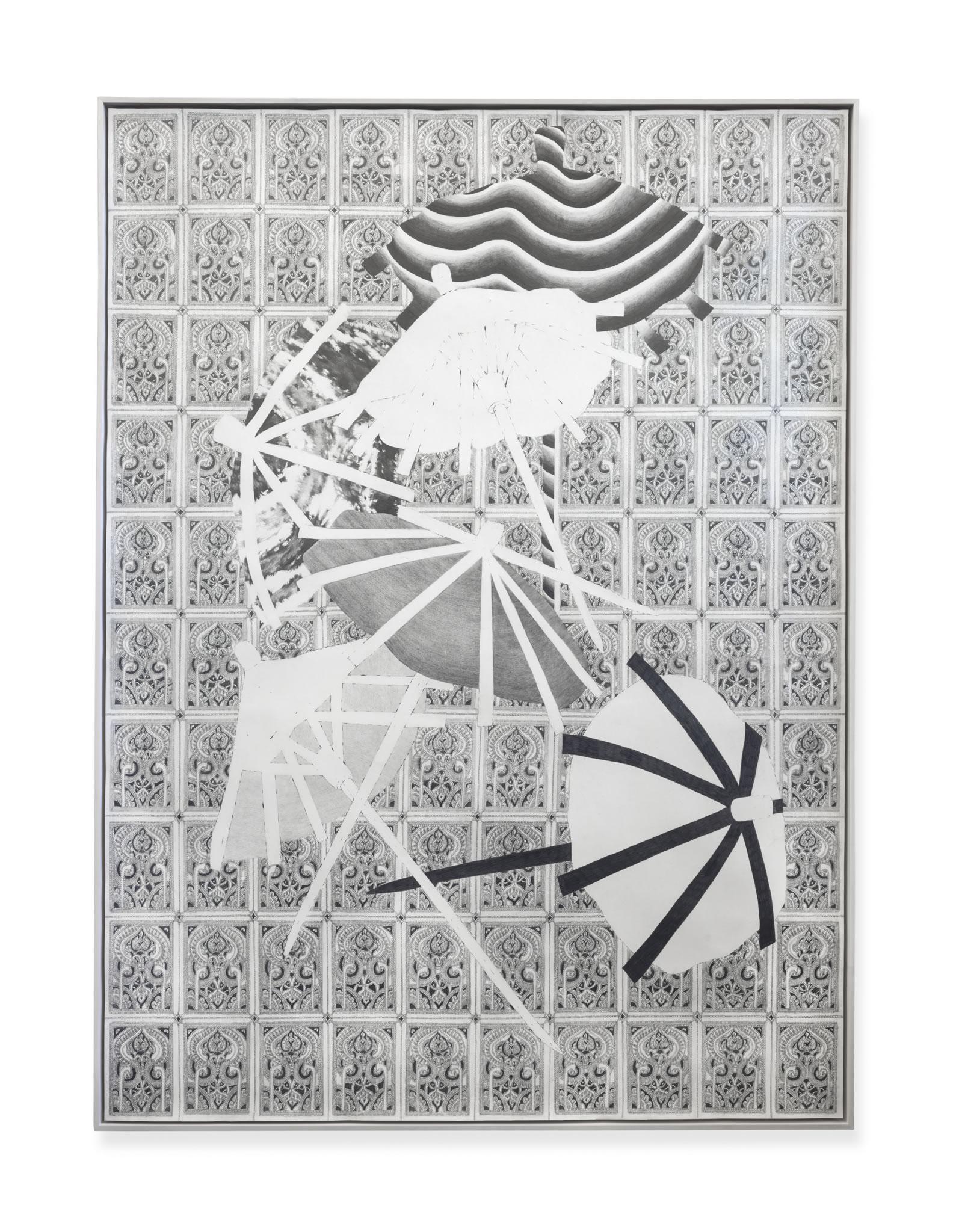 Galerie3 | Patrick Roman Scherer | o.T. | 2018 | 250 x 200 cm | Foto: Bastian Schwind