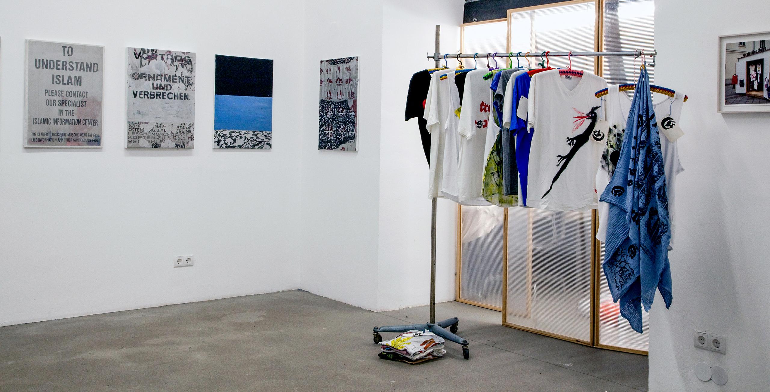 Hubert Lobnig | Iris Andraschek | Wir ist schön | 2016 | Galerie3