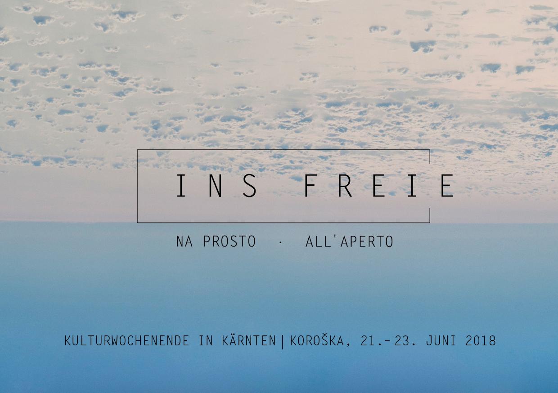 Ins Freie | 2018 | Titel