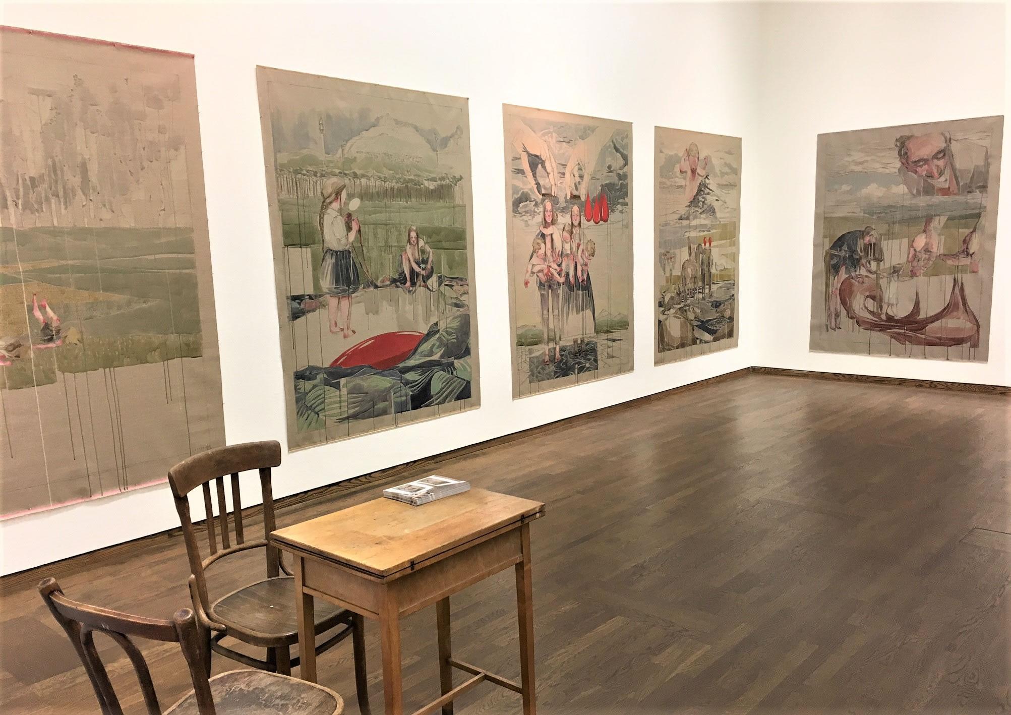 Maria Legat | Art Vienna 2017 | Galerie3 Stand | Galerie3