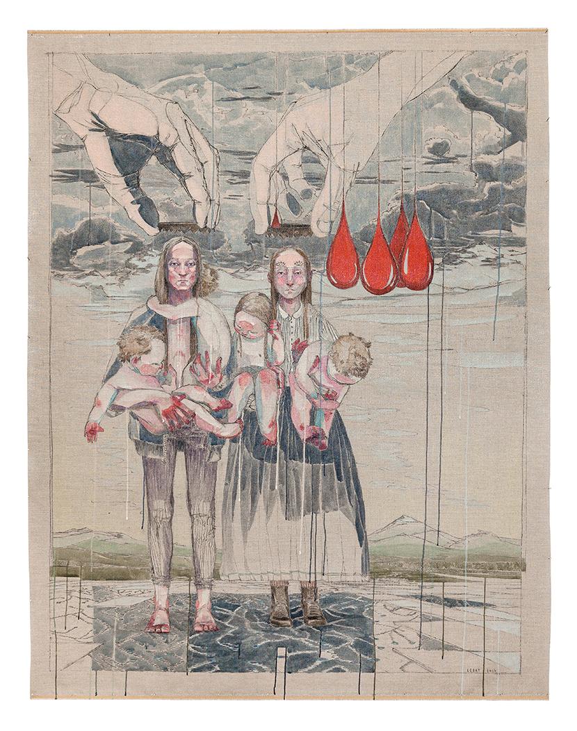 Maria Legat | Die Mutter die Schuld | Art Vienna 2017 | Galerie3