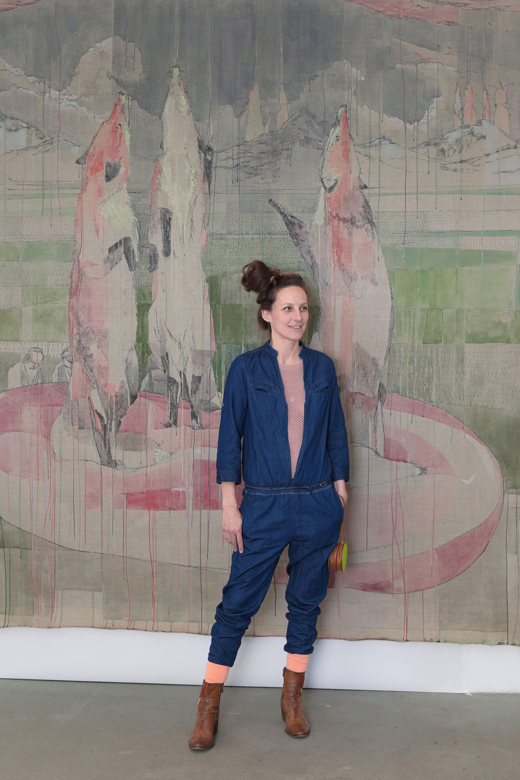 Maria Legat >Ende gut< | 02 | eSeL | Foto: JOANNA PIANKA | Galerie3 | Flux23