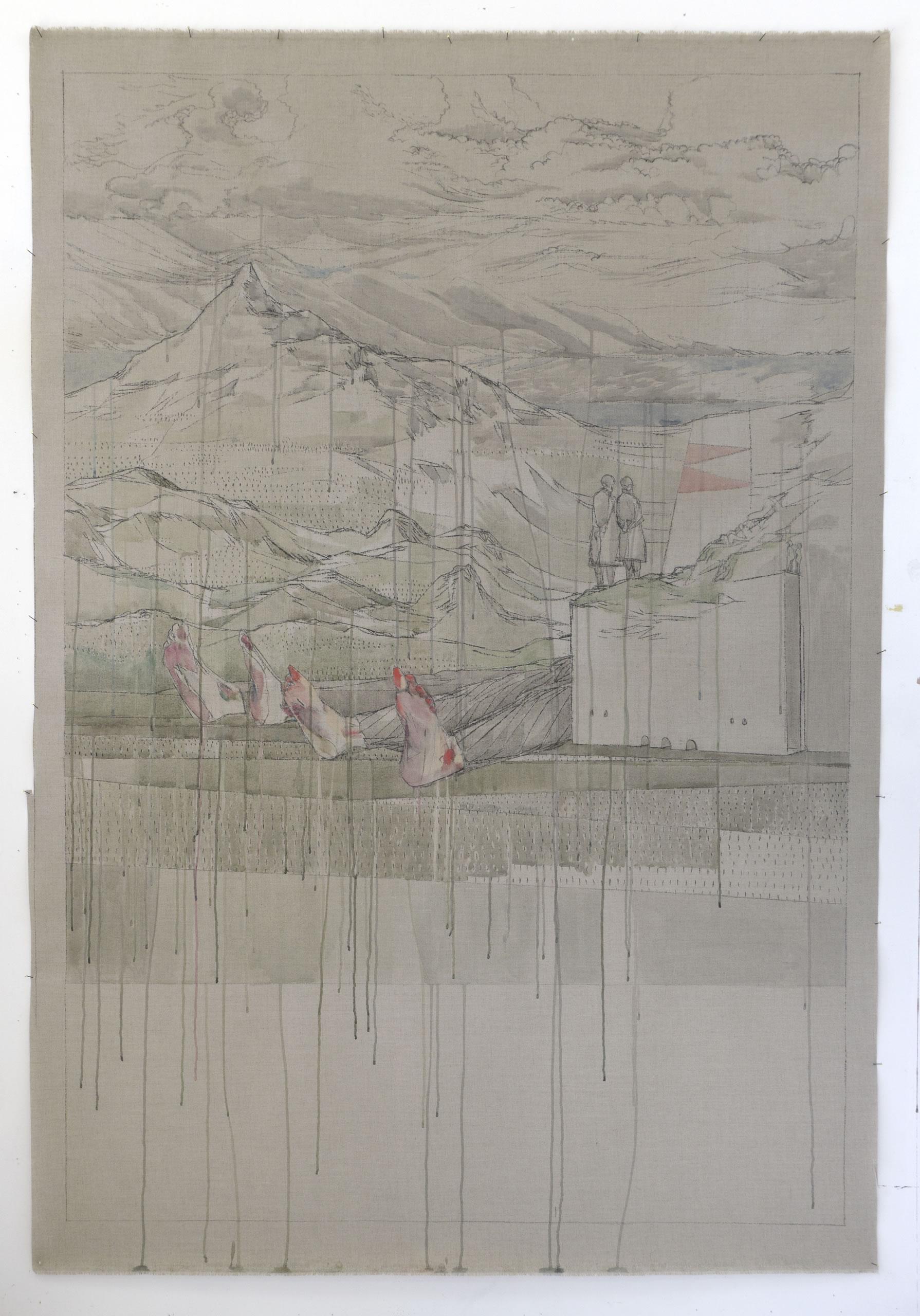 Maria Legat >Ende gut< | 12 | BergWerk | Galerie3 | Flux23