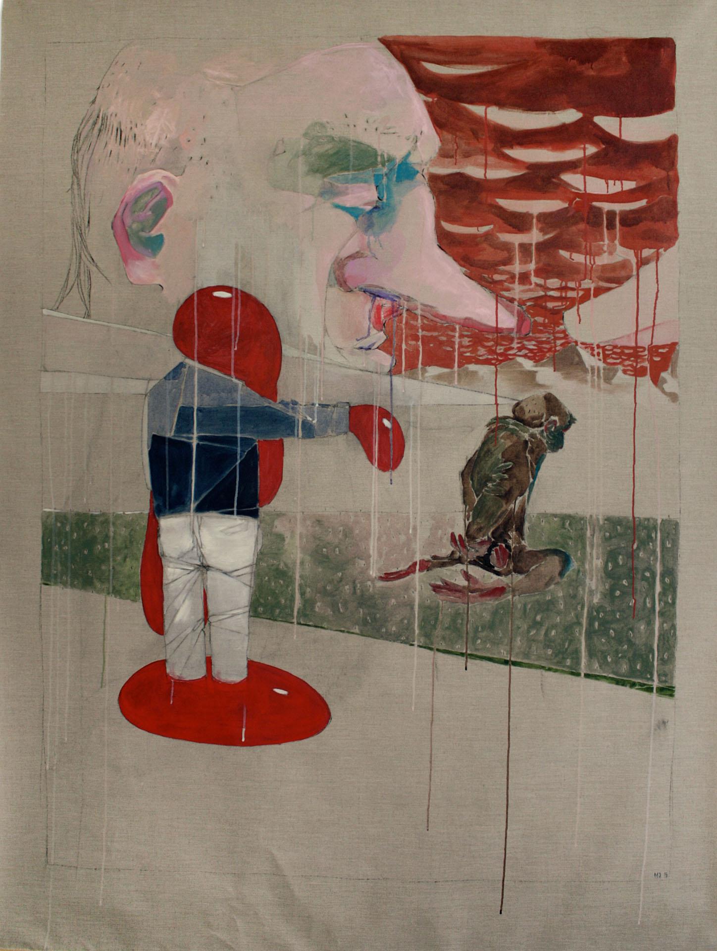 Maria Legat | GESOLLT | 2014 | Galerie3