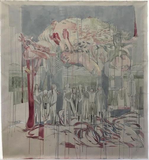 Maria Legat | Hinter den Barikaden | Art Austria 2019 | Galerie3