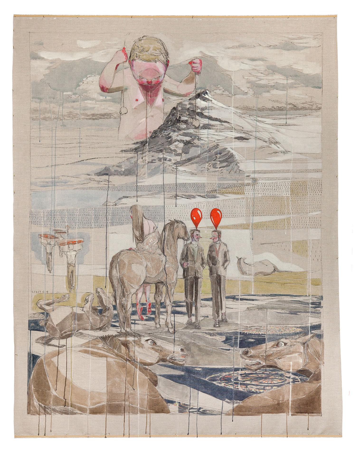 Maria Legat | UZLDW XI | Art Vienna 2017 | Galerie3