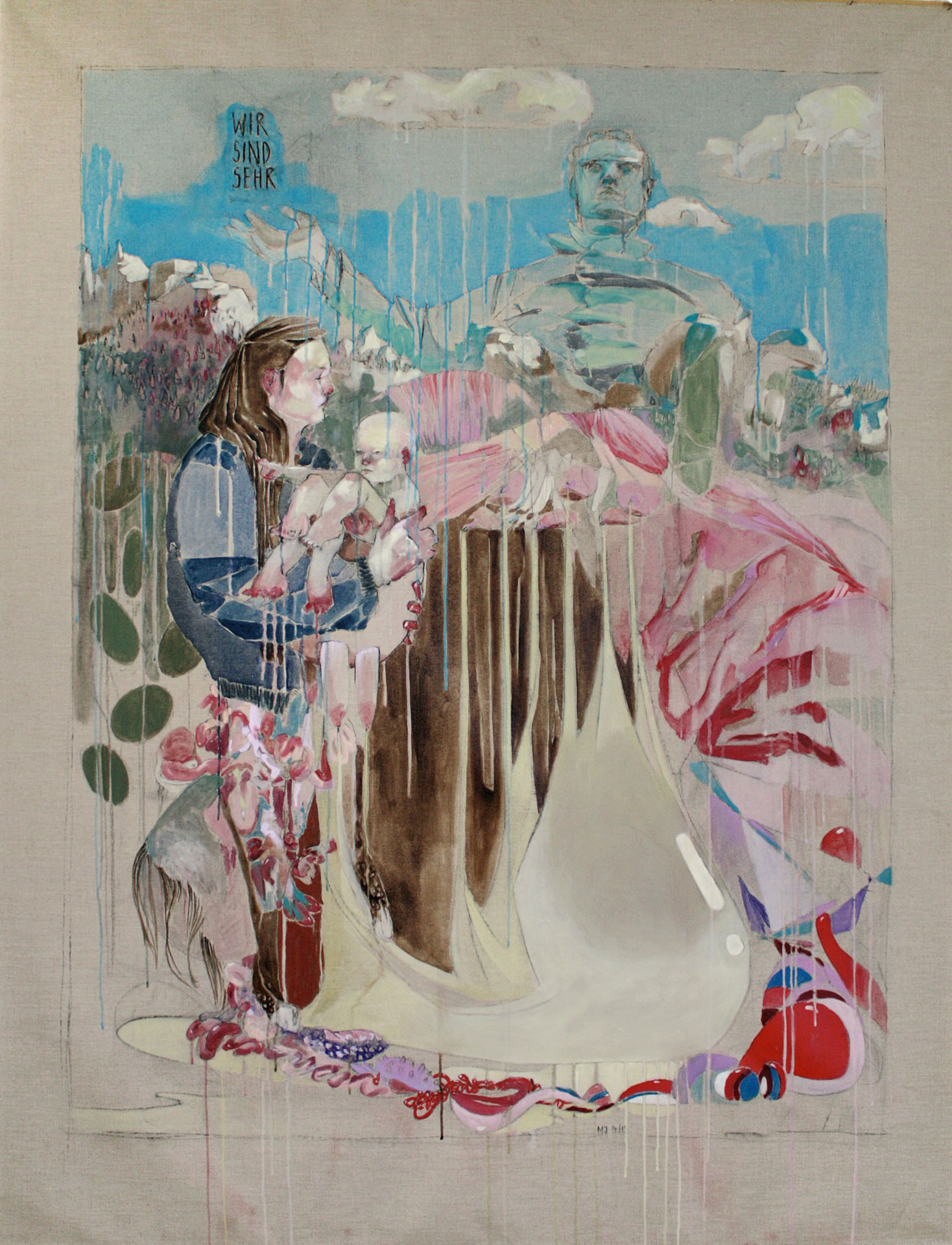 Maria Legat | WIR SIND SEHR | 2014 | Galerie3