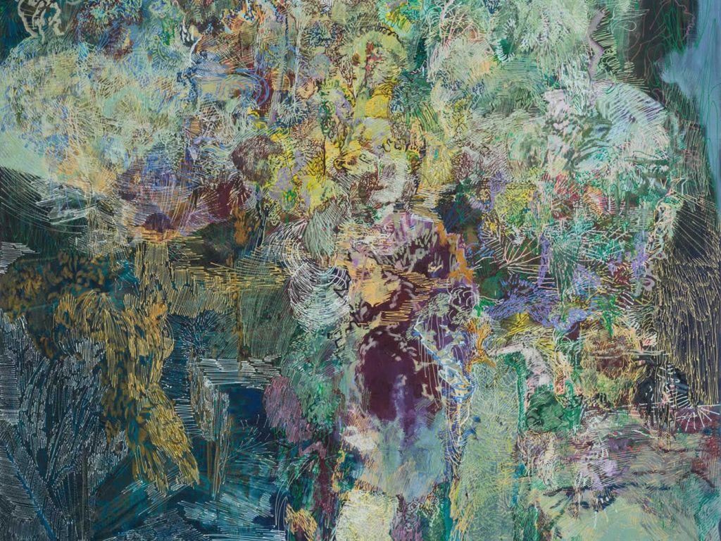 Matthias Buch | Ausschnitt | 05 | 2011 | 185 x 145 cm | Foto: Bastian Schwind | Galerie3