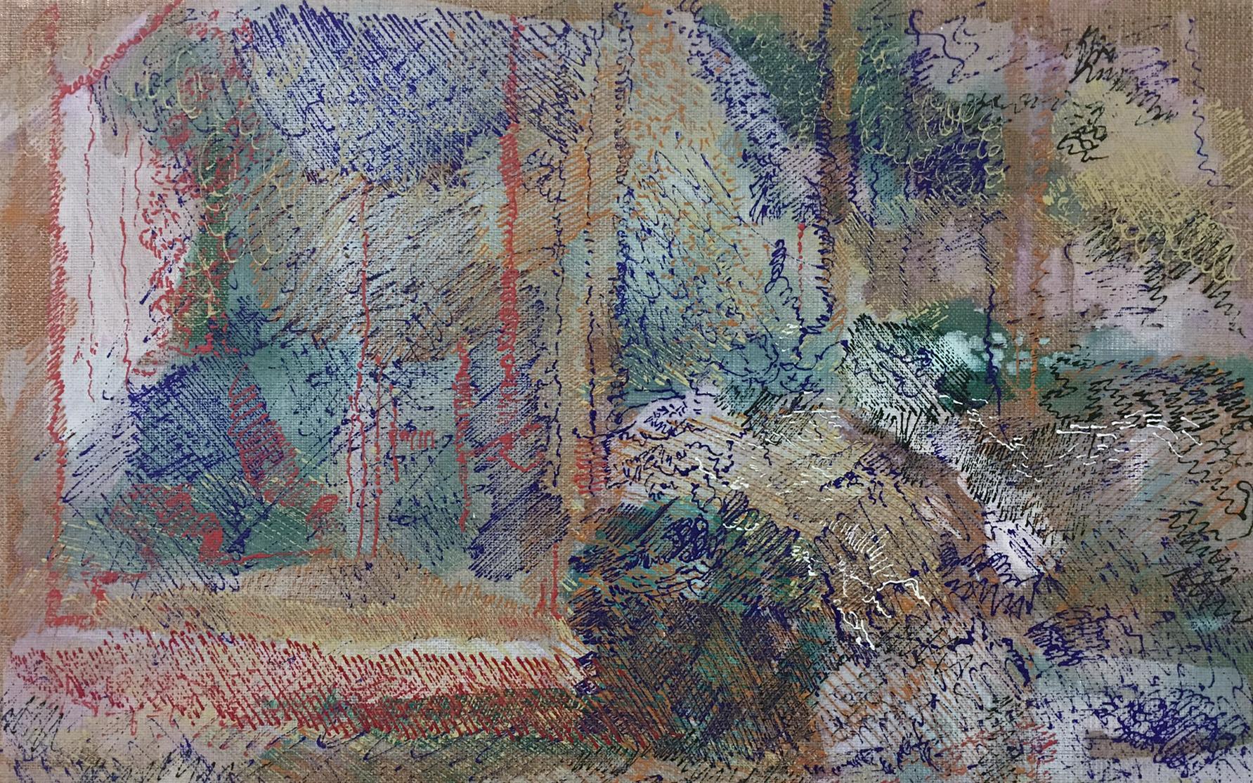 Galerie3 | Matthias Buch | Öl auf Leinwand | 2017 | cut