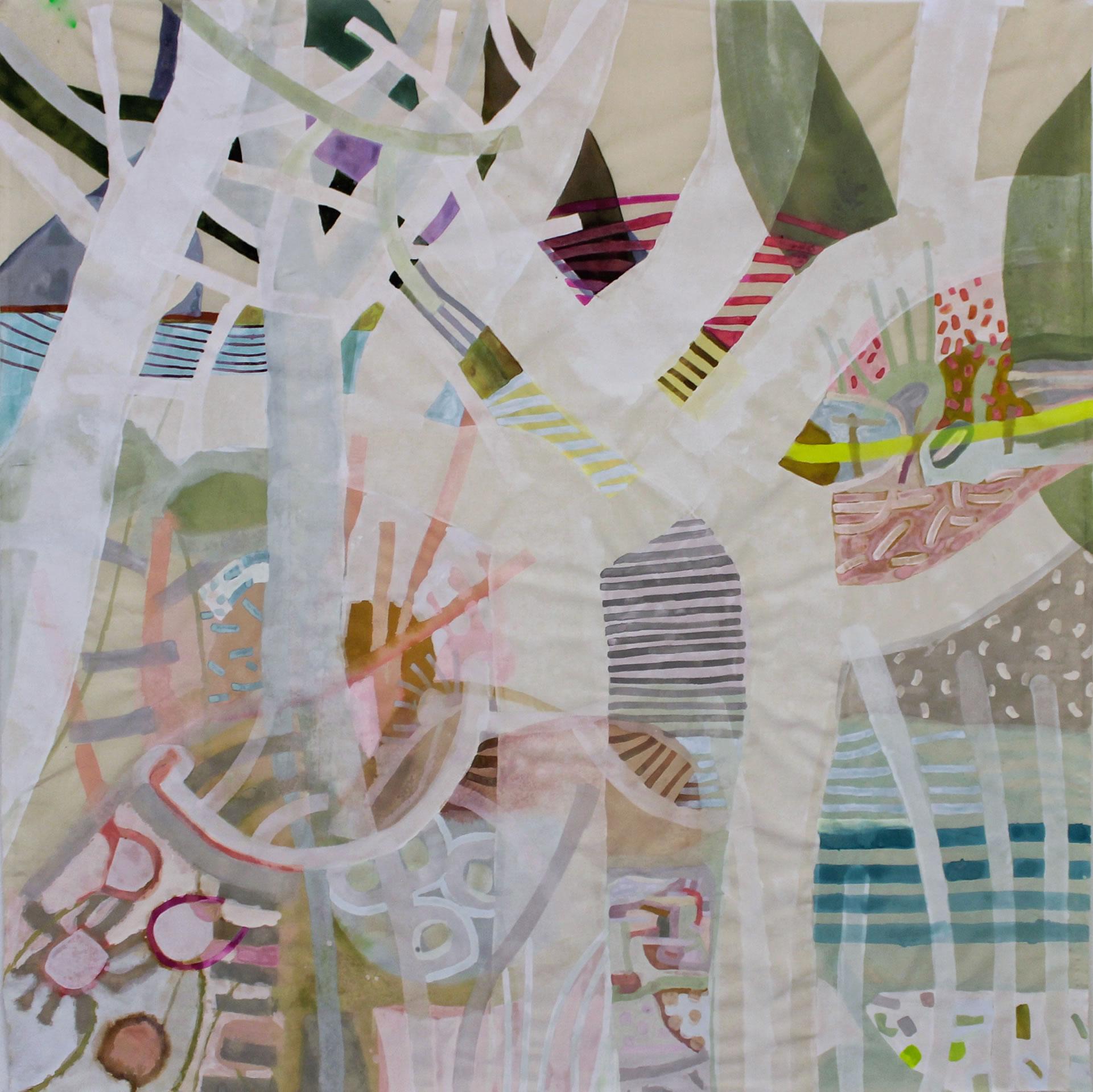 Anthia Loizou | white tree forest-Flux23