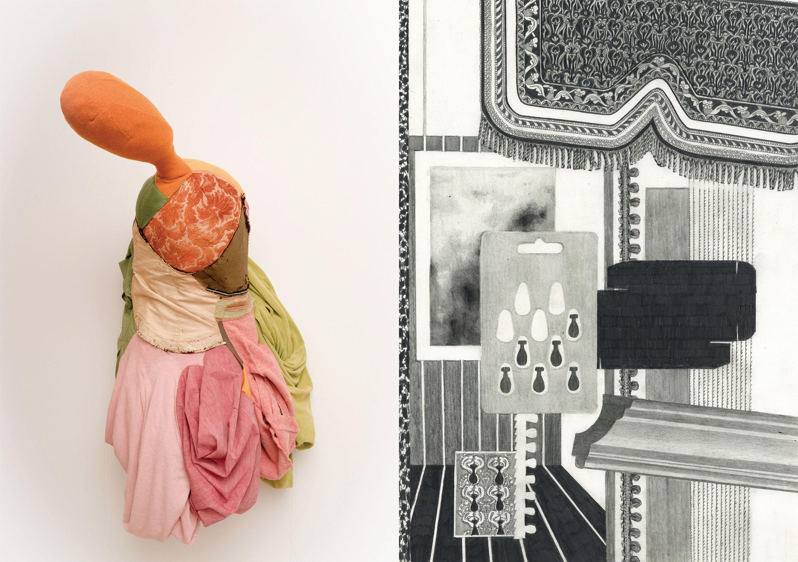 Patrick Roman Scherer - Andrea Vilhena | Einladung 2019 | Galerie3