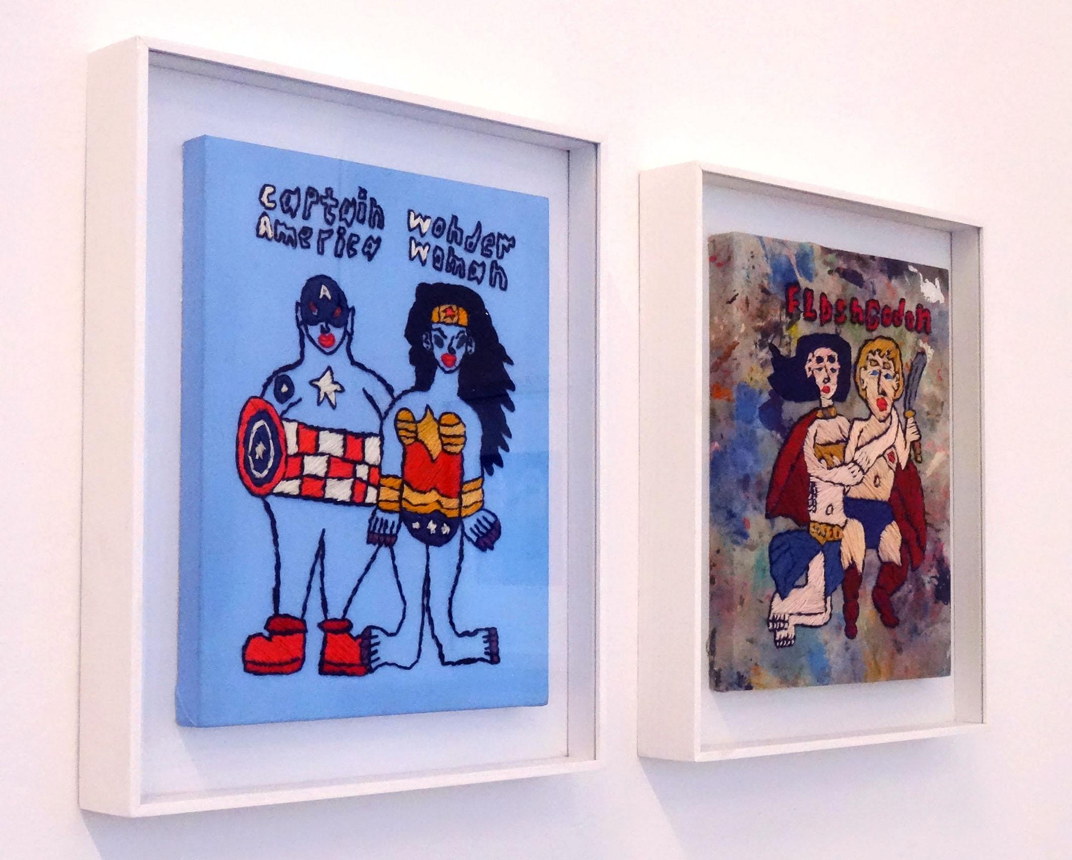 Rohullah Kazimi | Captain America Wonder Woman | Flash Godon | Galerie3