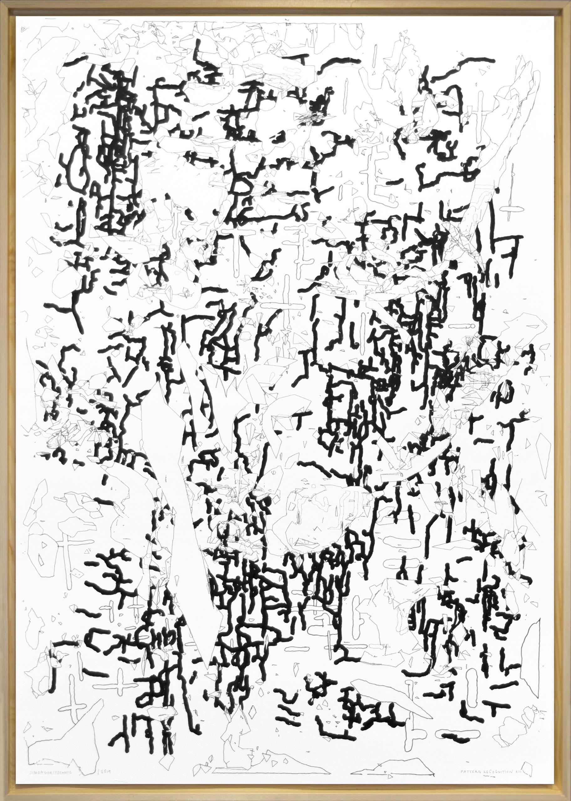 Simon Goritschnig | Pattern Recognition XII | 2019 | Galerie3