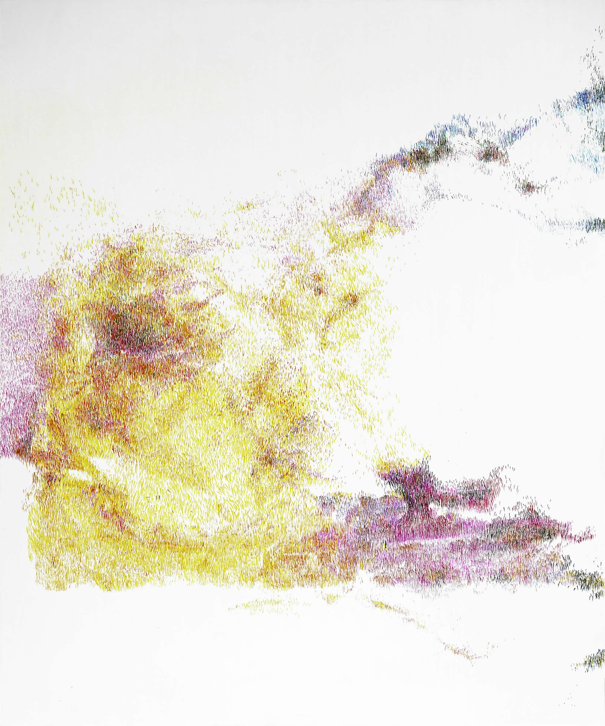 Linda Berger | walking on waves | Strichwelten & Luftkörper | 2019-11 | Galerie3