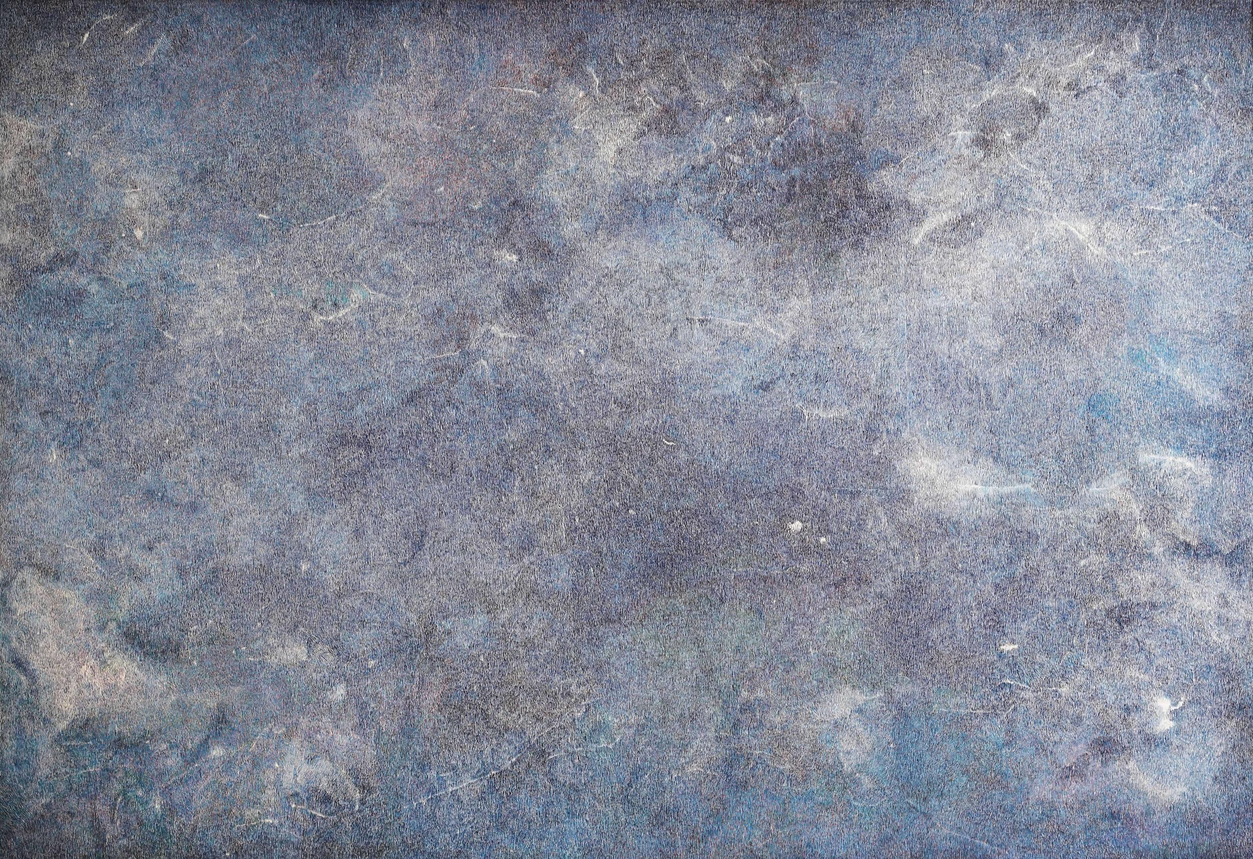 Linda Berger | The mountain never moves | 2019 | Tusche auf Papier | 320 x 220 cm | Strichwelten & Luftkörper | 2019-11 | Galerie3