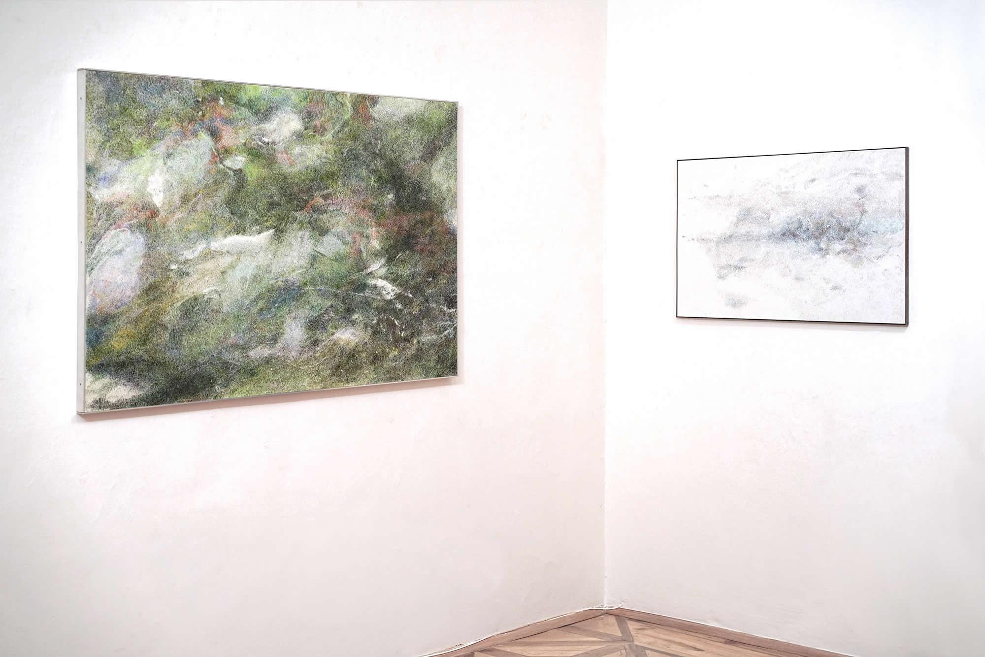 Linda Berger | Strichwelten & Luftkörper | 2019-11 | Galerie3