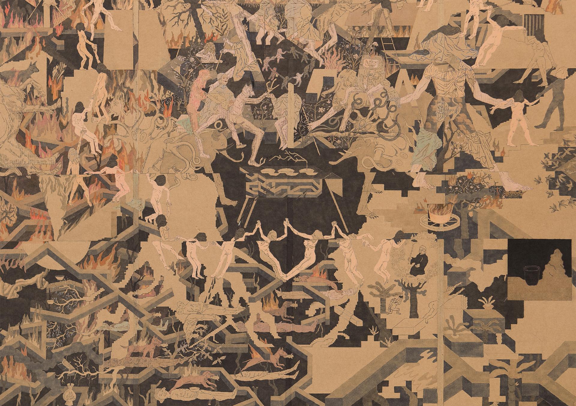 UNHEIMLICH HEIMELIG | Georg Pinteritsch »Ballsportgymnasium« | Galerie3