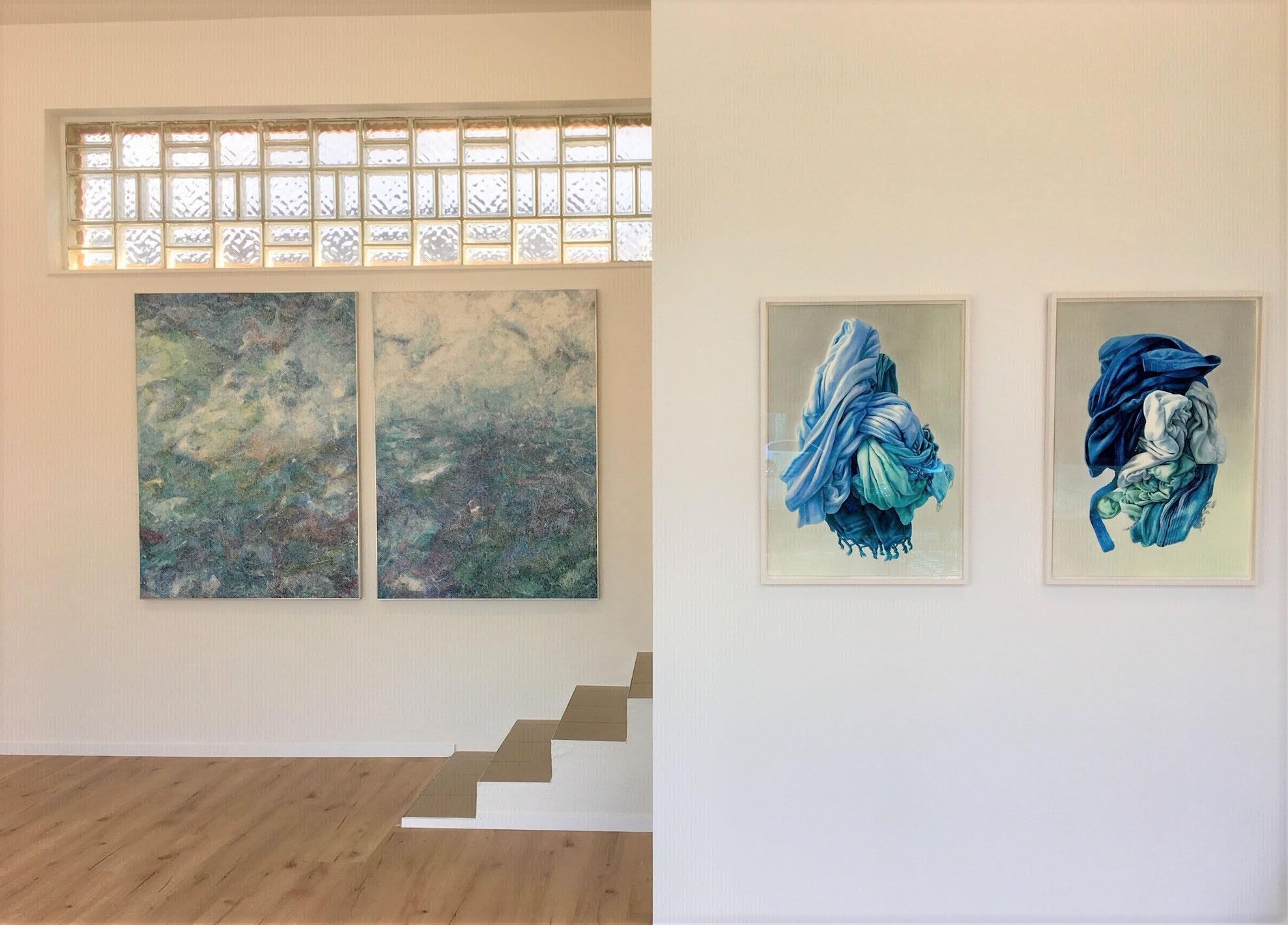 Linda Berger . Alina Kunitsyna | Foto: Lena Freimüller | Galerie3 Velden