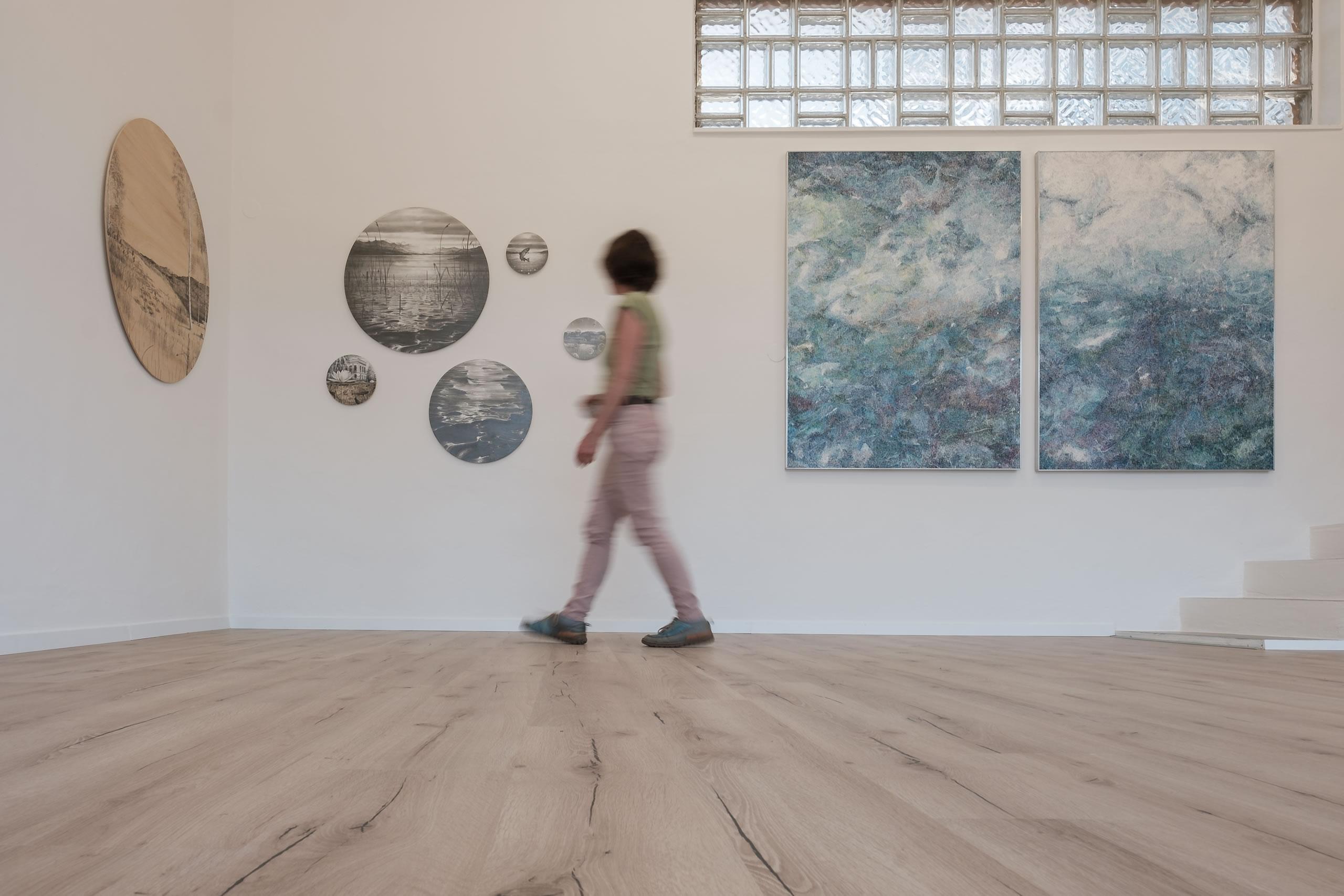 Dietmar Franz . Linda Berger | Foto: Manu Lasnik | Galerie3 Velden