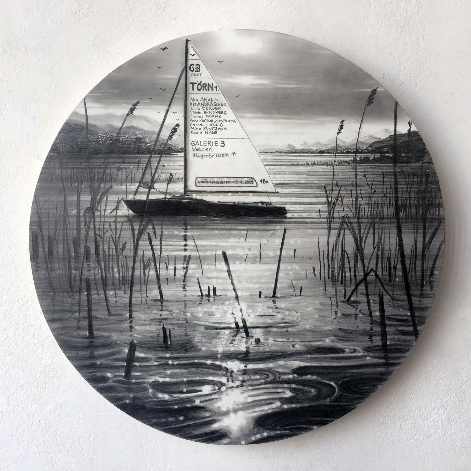 Dietmar Franz | 1. Törn Segelboot | Galerie3 Velden